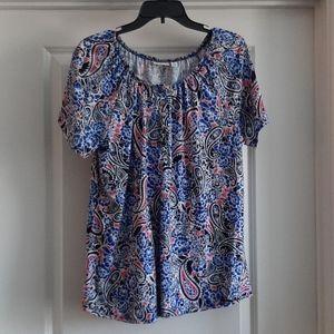 Kim Rogers Paisley blouse